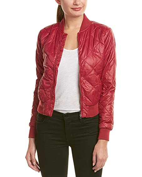 Romeo Juliet Couture Womens Quilted Bomber Jacket S At Amazon