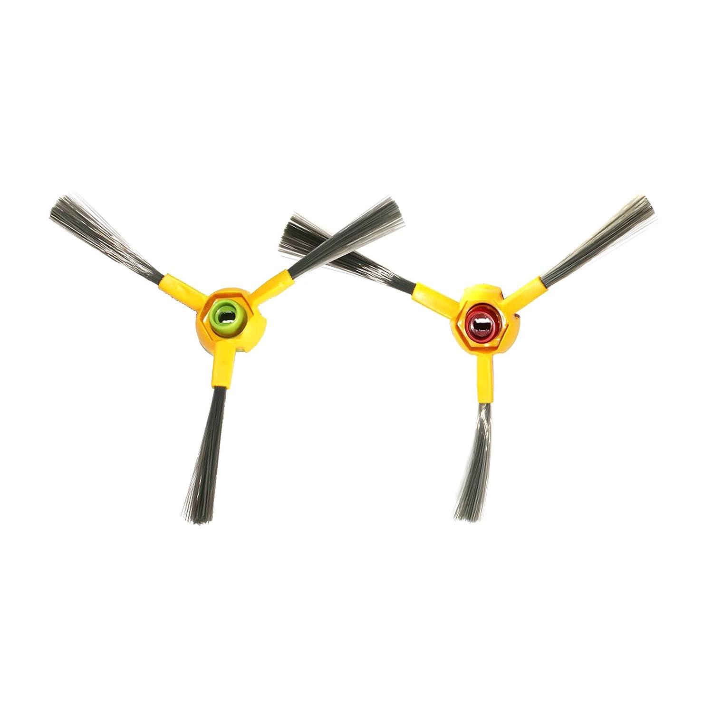 SYMTOP Set de 2 de Repuesto aspiradora Side Brush para Ecovacs deeboo Deepoo D70 Serie: Amazon.es: Bebé