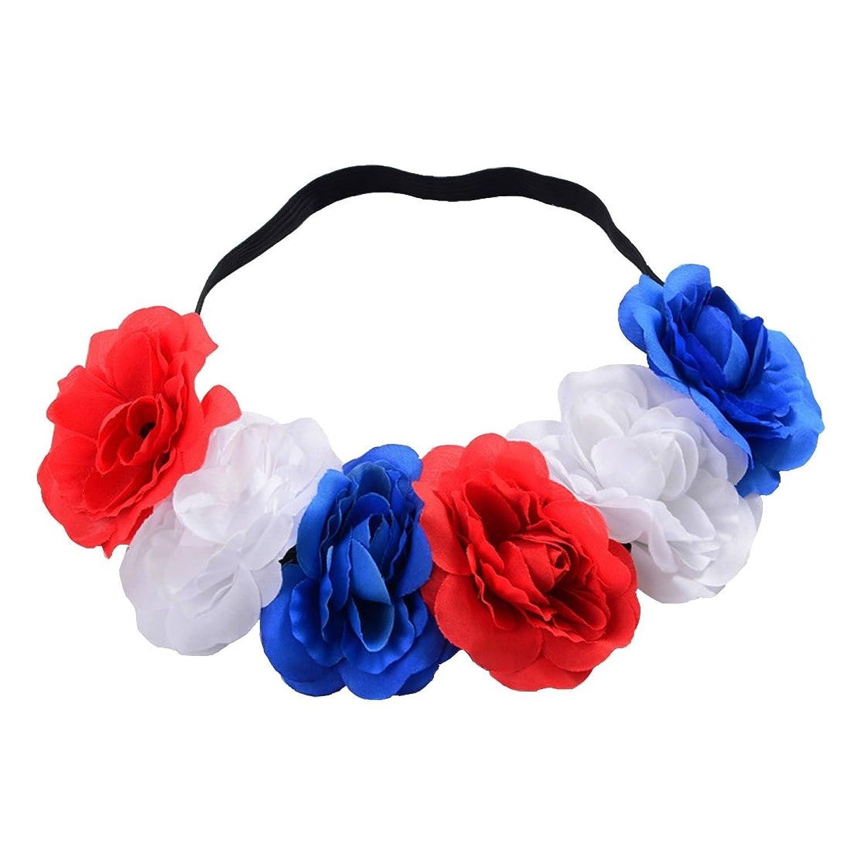 Outlet Daisyu Hippie Flower Headpiece Floral Head Wreath Bridal