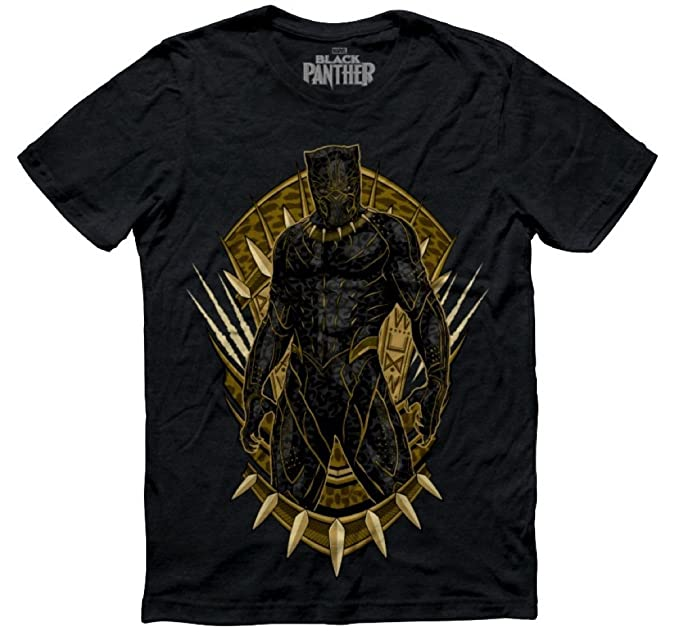Mascara De Latex Marvel x Black Panther Killmonger Mens T Shirt Size mediumLimited Edition