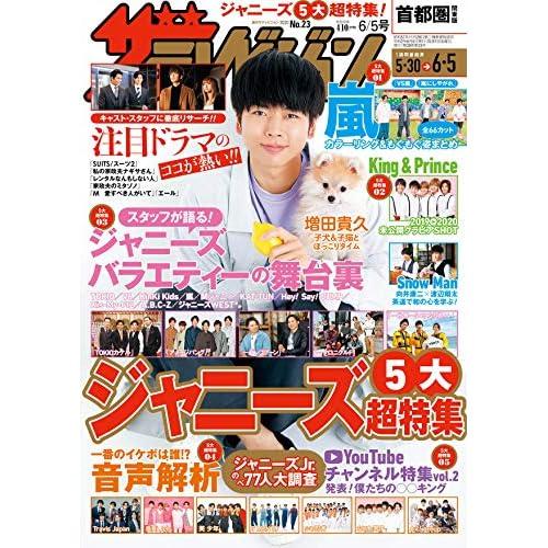 ザテレビジョン 2020年 6/5号 表紙画像