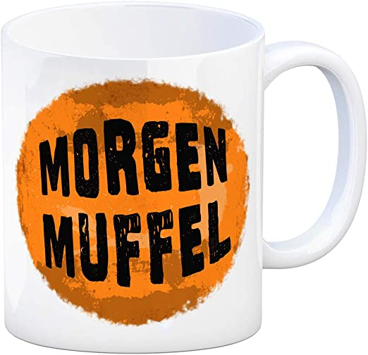 Kaffeebecher Morgenmuffel