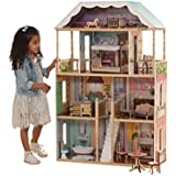 Kidkraft Magnolia Mansion Dollhouse With Furniture Toy Dollhouses