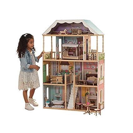 Amazon Com Kidkraft 65956 Charlotte Dollhouse With Ez Kraft