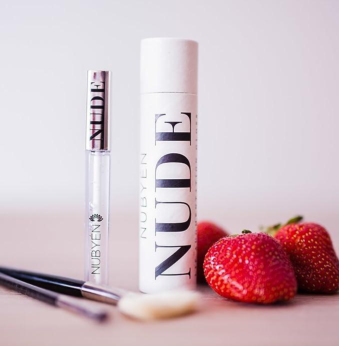 94 opinioni per Nubyen Nude- Potente volumizzante, aumento del modellamento siero Lip Gloss