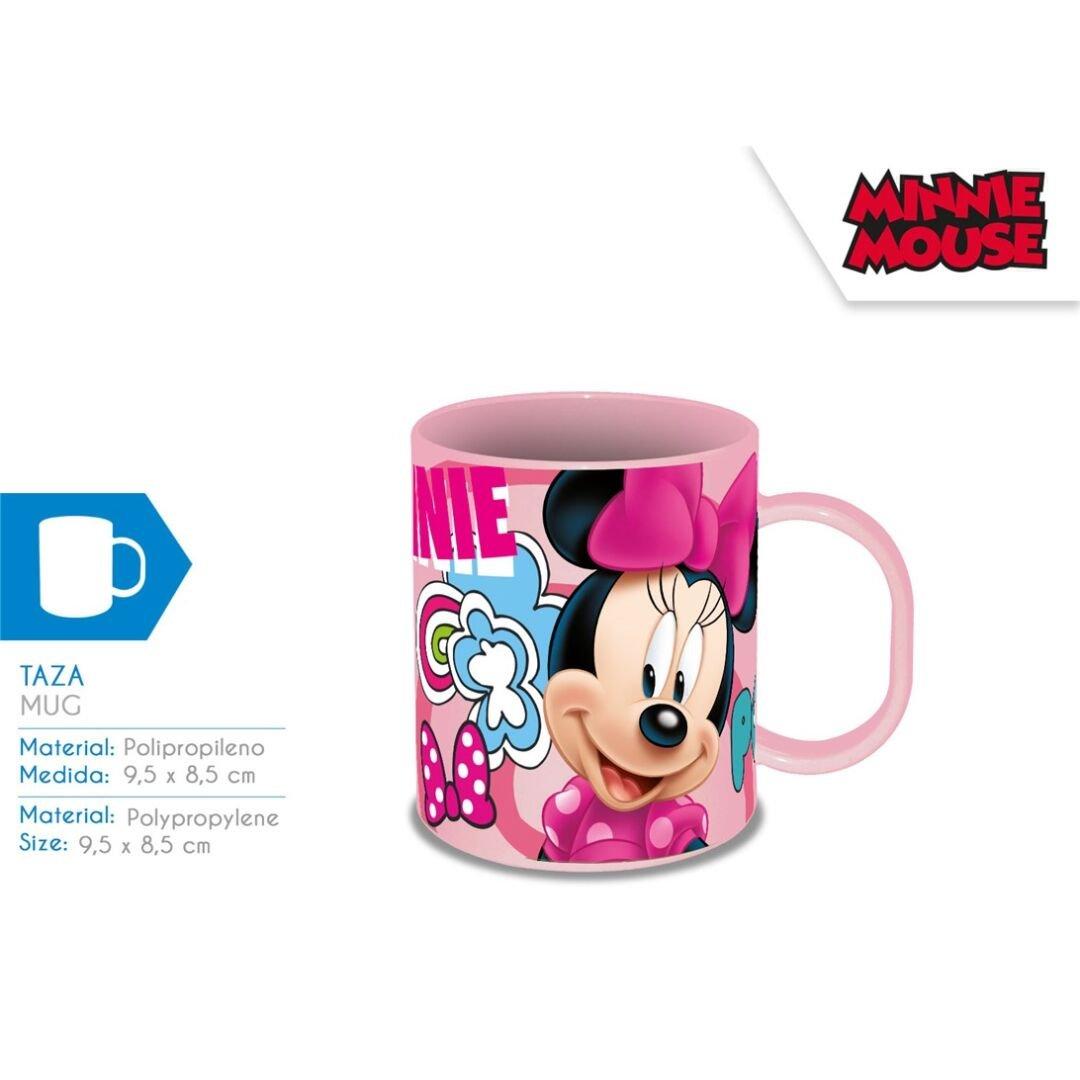 Disney KD-MI17833 Taza Plástico Polipropileno de Minnie Mouse ...