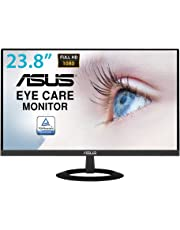 ASUS VZ249HE 24 Inch (23.8 Inch) Monitor, FHD (1920 x 1080), IPS, Ultra-Slim Design, HDMI, D-Sub, Flicker Free, Low Blue Light, TUV Certified