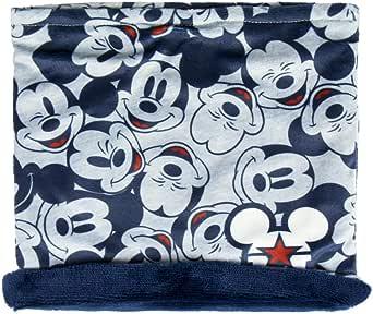 ARTESANIA CERDA Braga Cuello Mickey Calentadores, Gris (Gris 17), One Size (Tamaño del fabricante: One Size) para Niños