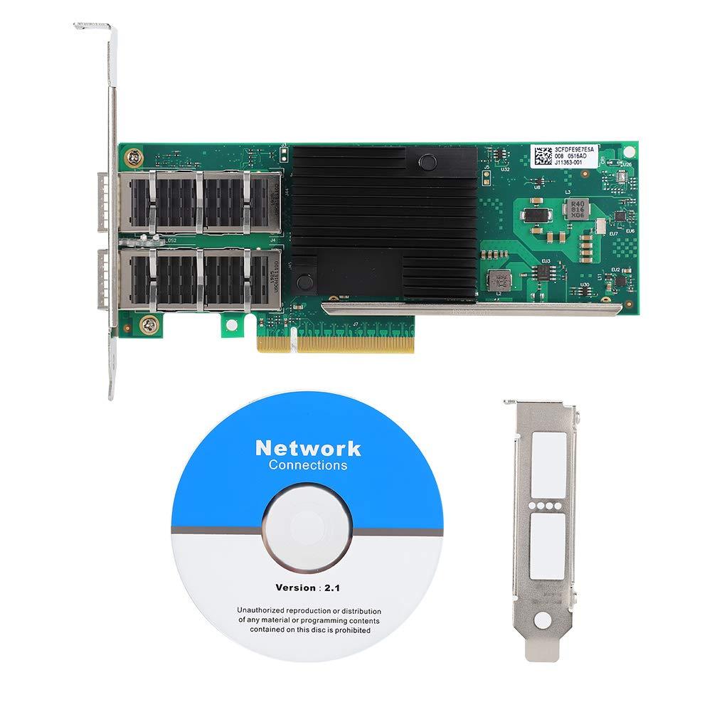 Kafuty Tarjeta de Red PCI-E Adaptador Gigabit Ethernet de 40 ...