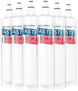Clear Choice CLCH104 Replacement for 5231JA2006A 5231JA2006B Filter Compatible with SGF-LA50 SGF-LB60 RWF1051 WSL-2 Refrigerator Water Filter, NSF Certified, Box of 6, Made in the USA