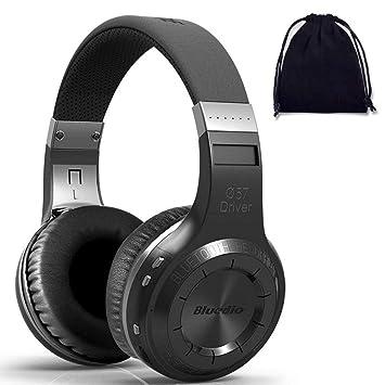 Bluedio H+ (Turbina) Auriculares estéreo Bluetooth inalámbricos con micrófono Incorporado Micro-SD Music String/Radio FM BT4.1 Auriculares de Diadema ...