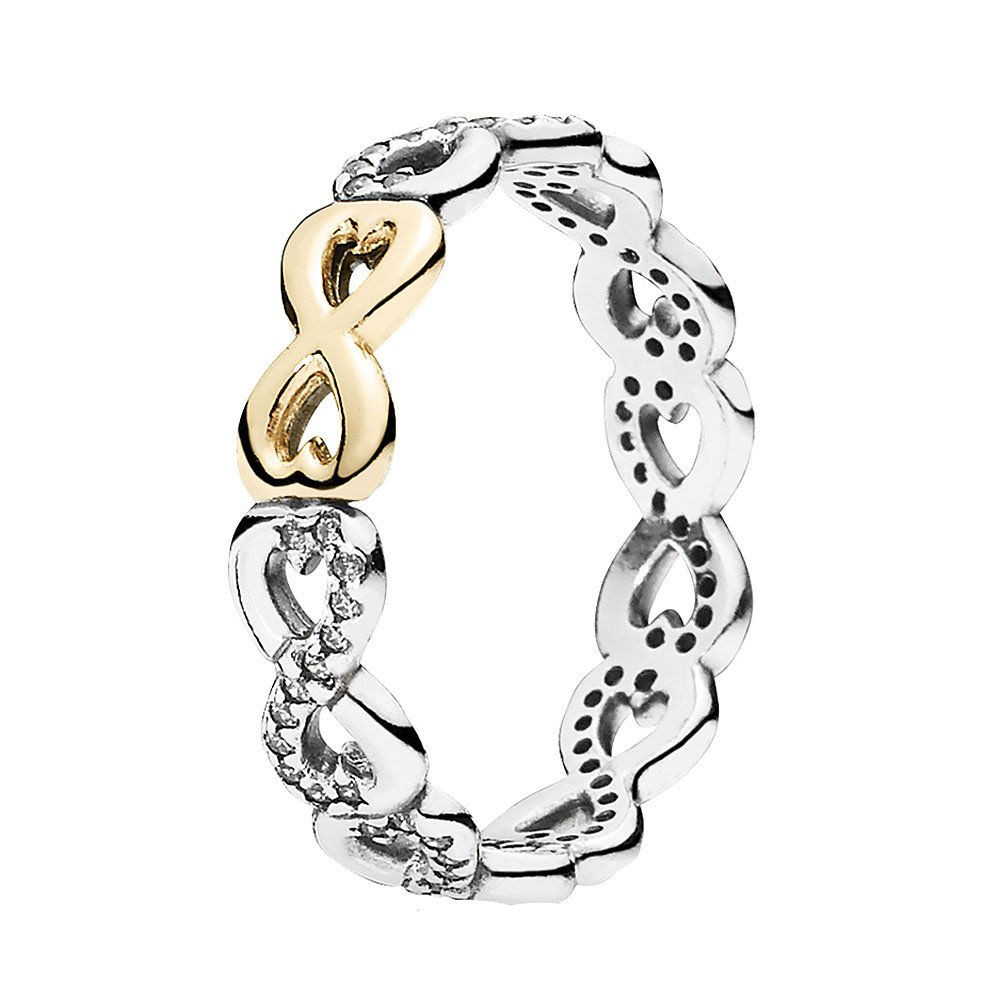 PANDORA Ring Infinite Love 190948CZ - SIZE 6 S/M