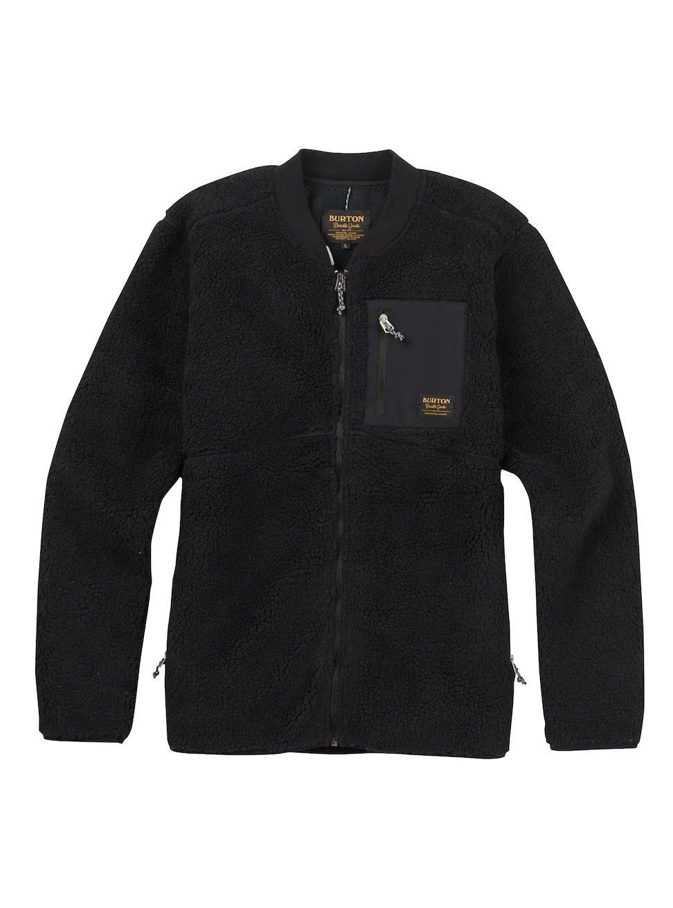 Burton Grove Full-Zip Fleece, True Black, Small