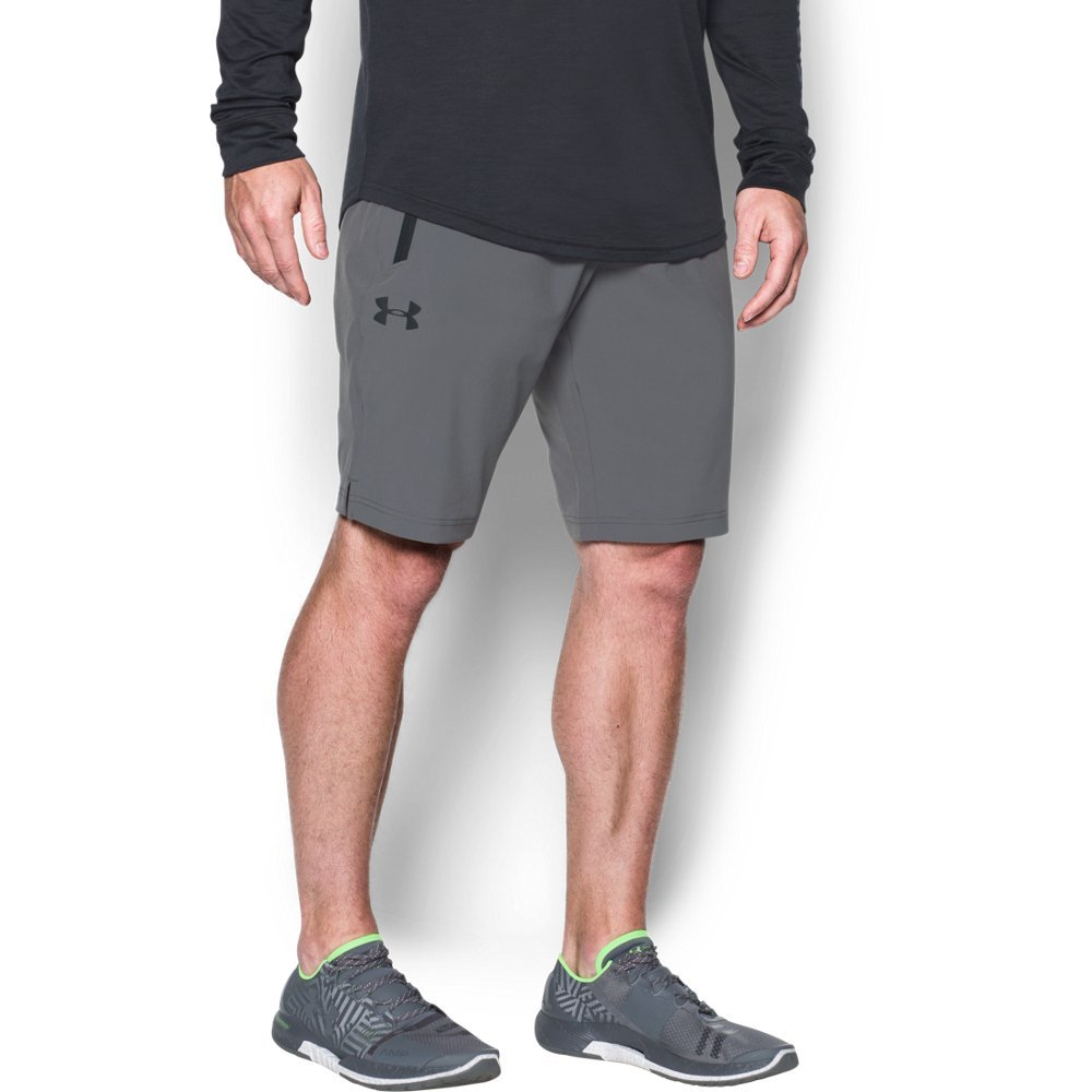 Under Armour Men's Ultimate DIA Shorts,Graphite (040)/Black, Medium by Under Armour