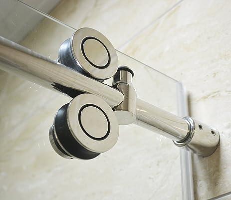Amazon Diyhd 5ft Frameless Sliding Glass Shower Door Track