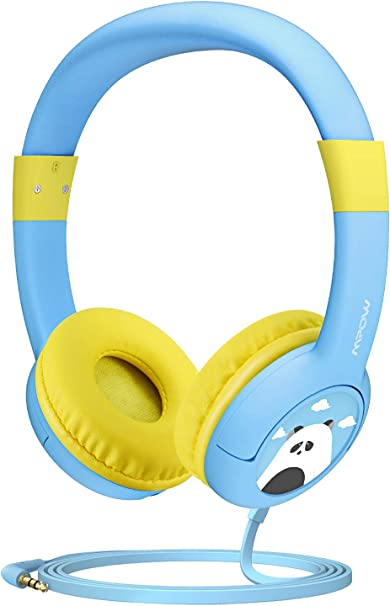 Kids Headphones, Mpow CH1 Wired Headphones Children On Ear 85 dB Volume Limited Hearing Protection, Friendly Safe Food Grade Material Durable, Music