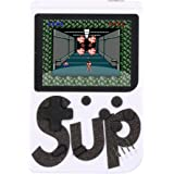Mini Super Vídeo Game Portátil 400 Jogos Cabo Av - Branco