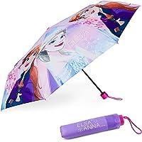 Paraguas Plegable Infantil de Frozen - BONNYCO | Paraguas Antiviento para Niñas con Estructura Reforzada | Paraguas…