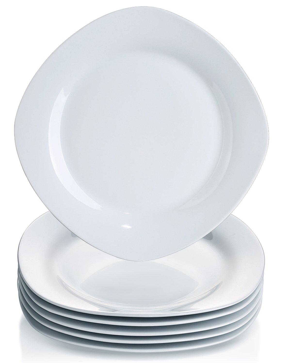 YHY 6 Pcs 10.5-inch Porcelain Dinner Plates Square Round Serving Plate Set  sc 1 st  Amazon.com & Best Rated in Dinner Plates u0026 Helpful Customer Reviews - Amazon.com