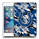 Official NFL Camou Indianapolis Colts Logo Soft Gel Case for Apple iPad mini 4