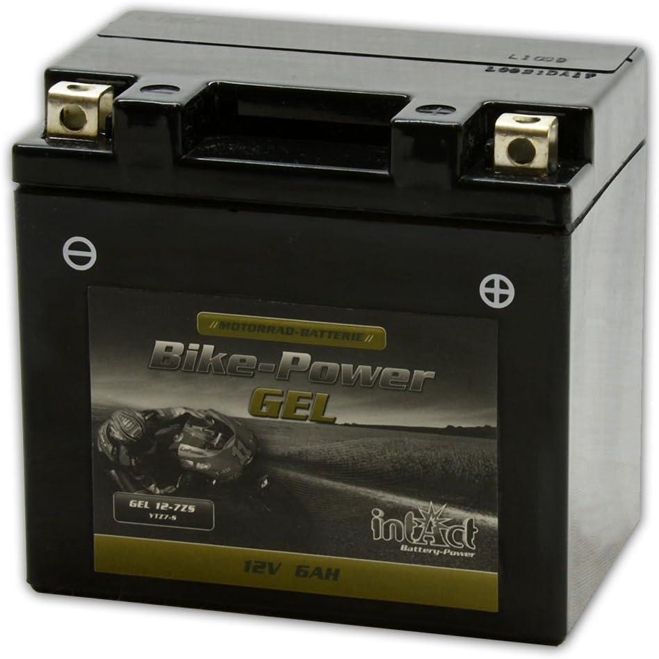 Intact Bike Power Gel 12v 6ah Ytz7 S Gel12 7z S Auto