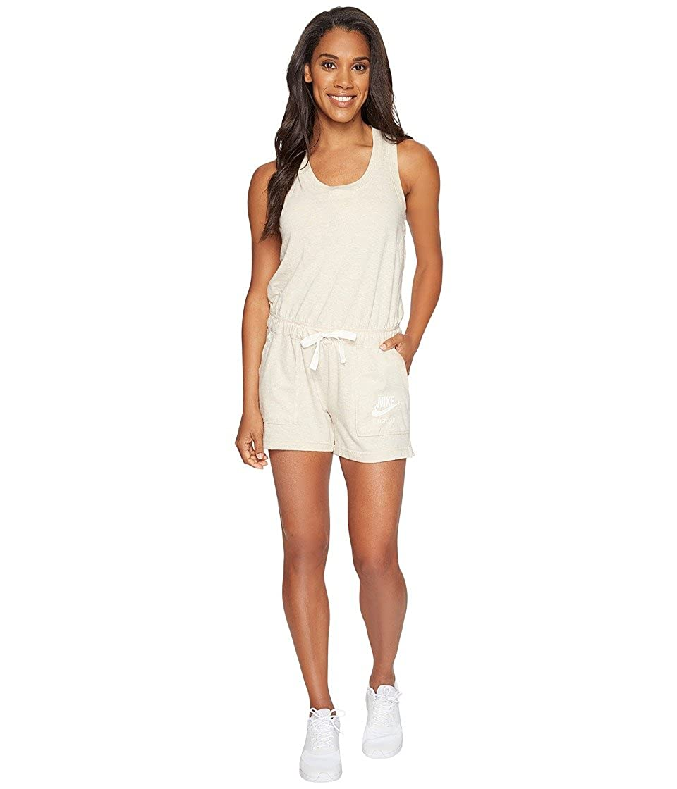da6291aed196 Nike Women Jumpsuits   Jumpsuits NSW Gym Vintage beige M  Amazon.co.uk   Clothing