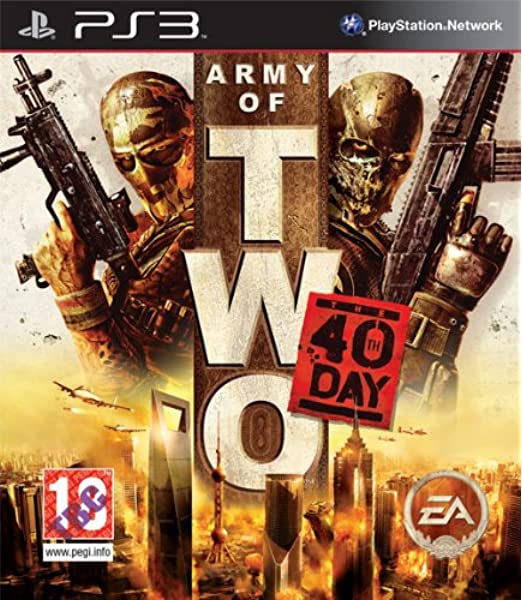Import Anglais]Army of Two The 40th Day Game PS3: Amazon.es ...