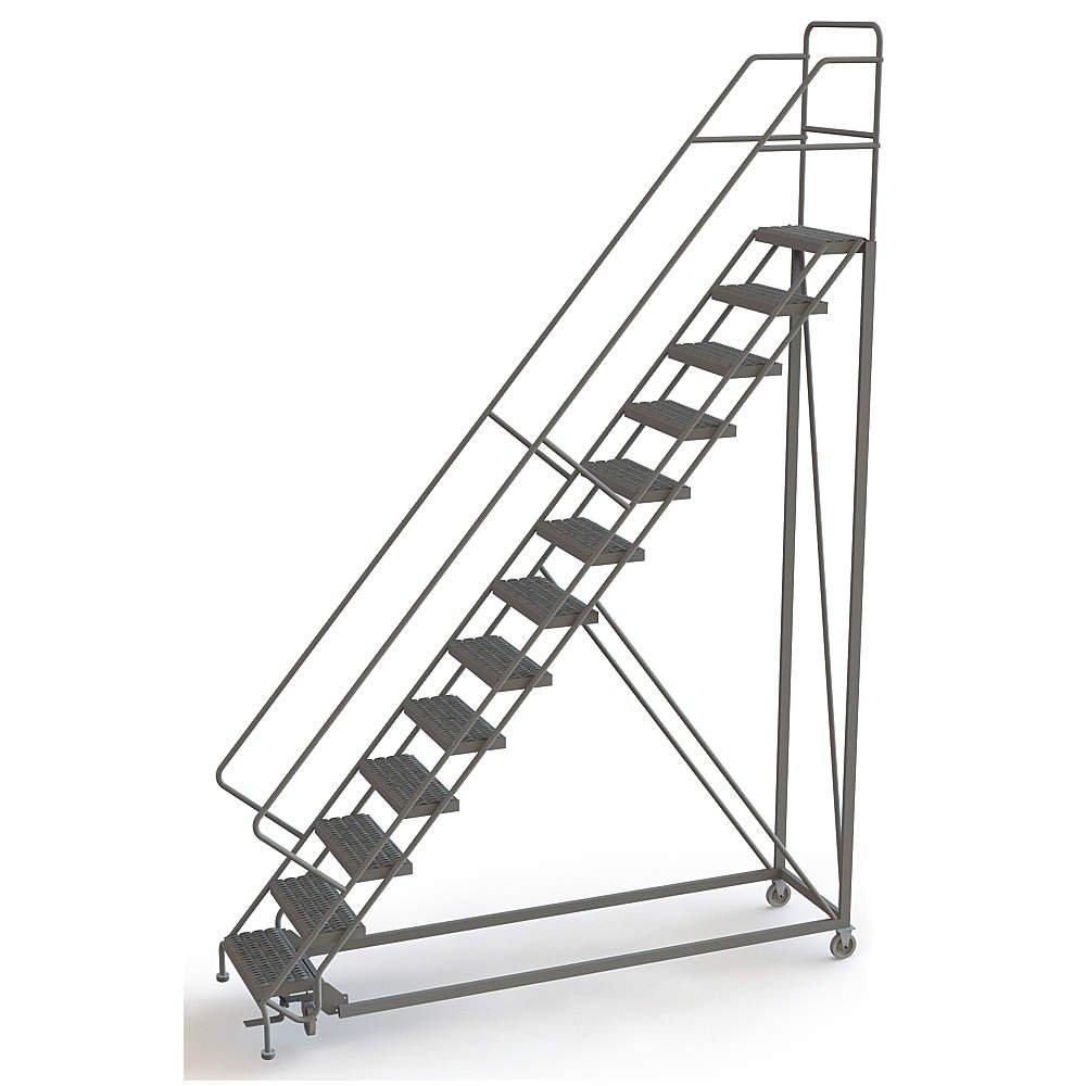 Tri Arc – UKDEC113242-13 peldaños configurables, escalera dentada, 166 altura total, 450 lb. Capacidad de carga: Amazon.es: Amazon.es