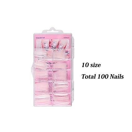 Lavender Violets - Kit de uñas de gel de polietileno para uñas postizas de gel UV