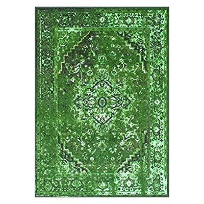 nuLOOM 200-2608 Traditional Vintage Inspired Overdyed Fancy Runner Area Rug