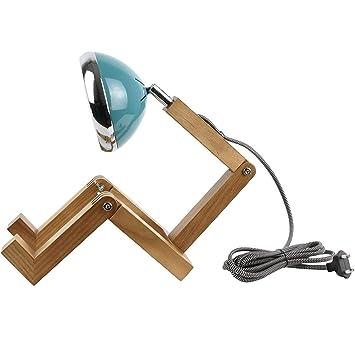 2l Orientable À 15 37 5 19 56 27 Neoly H30 Bleu 3 Mister 004 Bois Lampe Articulée X Cm Woody Bonhomme 7fgyb6