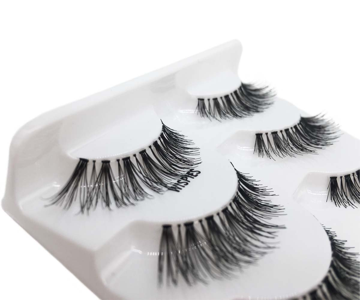JIMIRE HELLO BEAUTY Multipack Demi Wispies Fake Eyelashes 2 Pack by JIMIRE (Image #3)