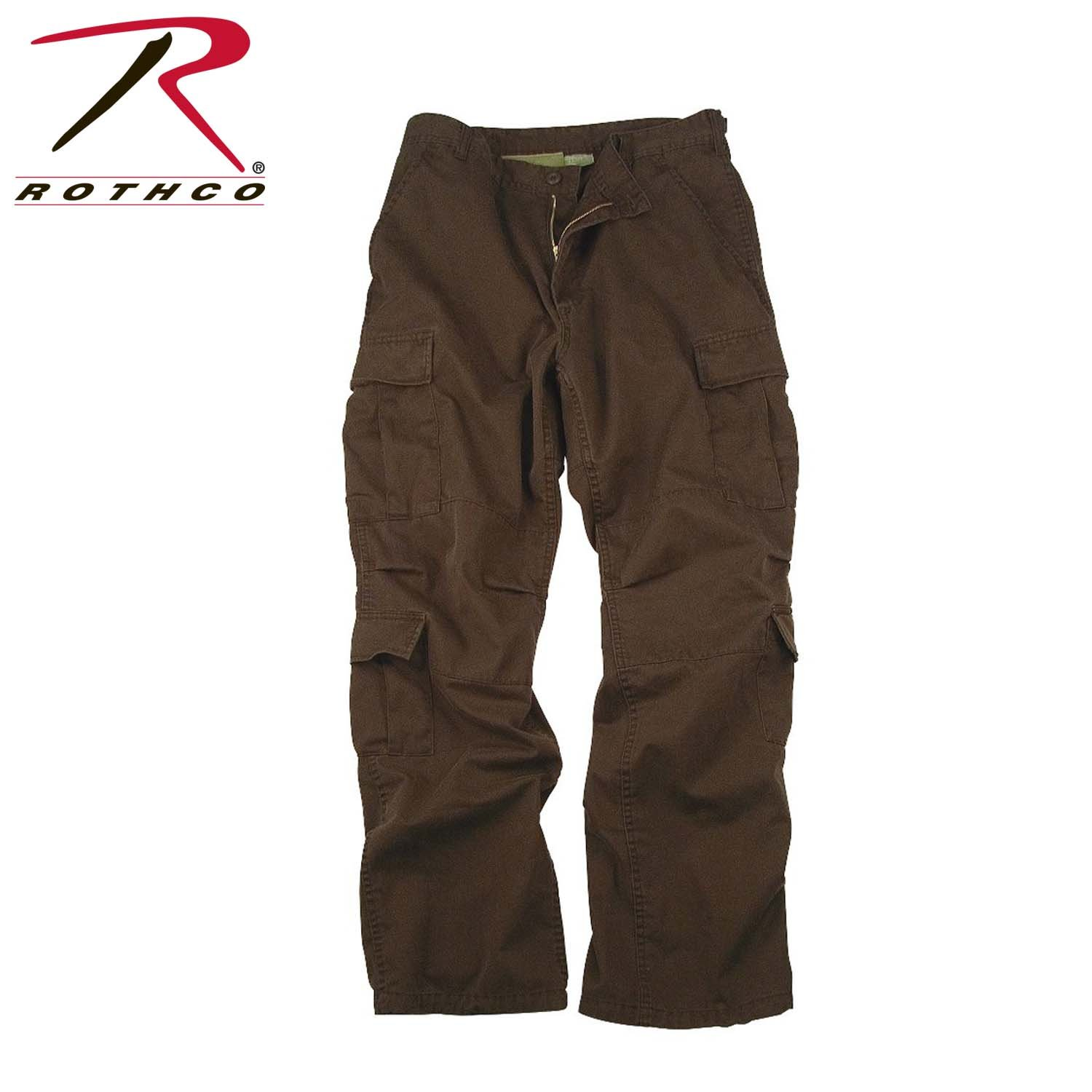 Rothco Vintage Paratrooper Fatigues, Brown, 3X