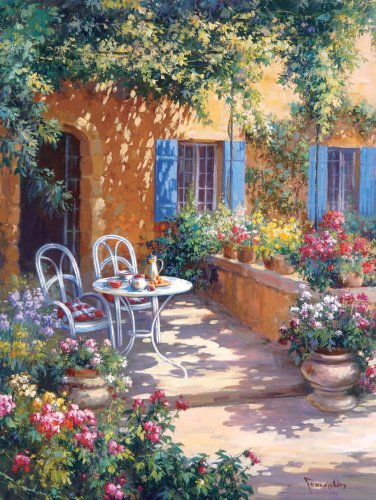 Hasbro - MB - Puzzle - 9194 - Puzzle - 1000 Pièces N°5 - Terrasse ...
