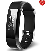 Fitness Tracker Yuanguo YG3 Plus Activity Tracker Sports Watch Smart Bracelet Pedometer Fitness Watch with Heart Rate Monitor/GPS/Step Counter/Sleep Monitor for Android and iOS