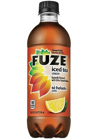 Fuze Lemon Tea - 16.9 oz. - 24 pk.