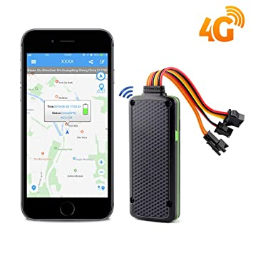 Rastreador de Coche 4G GPS localizador para vehículo en ...