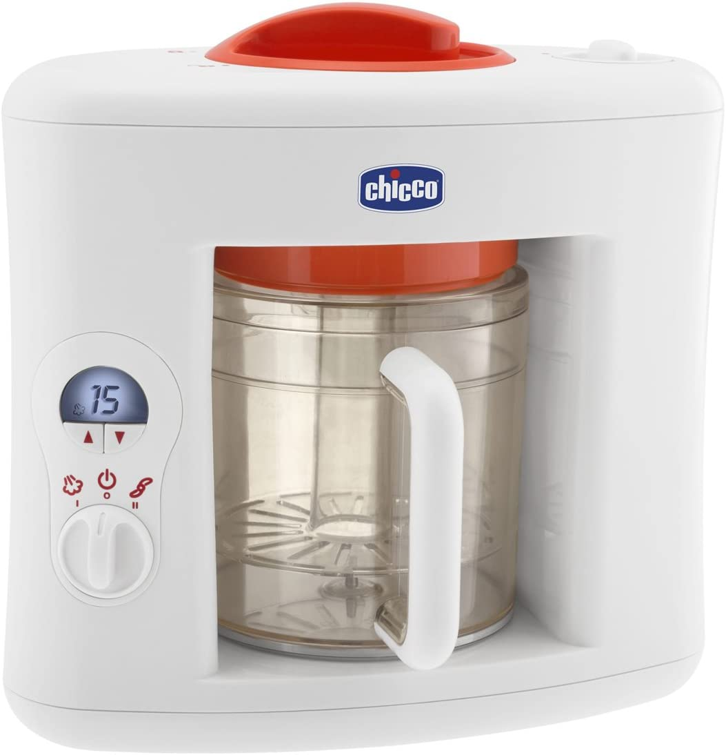 Chicco Sano Vapor 06560 - Cocinero, color blanco/rojo: Amazon.es: Bebé