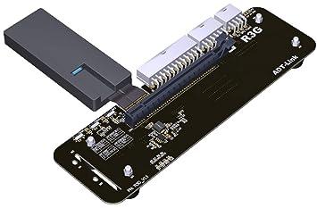 ADT-Link M.2 Key M Soporte de Soporte de Tarjeta gráfica Externa ...