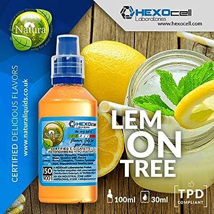 E LIQUID PARA VAPEAR - 30ml Lemon Tree (Limón ligeramente dulce y gaseoso) Shake