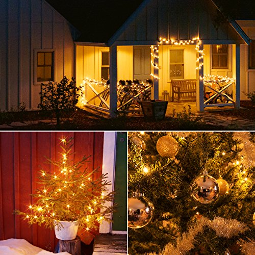 Battery Powered  LED Christmas String Lights Indoor Outdoor Tree House