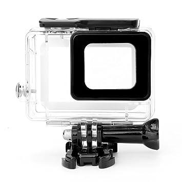Newlemo GoPro Caja Protectora Impermeable Funda Cámara Carcasa a Prueba de Agua para Uso Bajo el Agua Protección de GoPro Hero 5 Acción Cámara