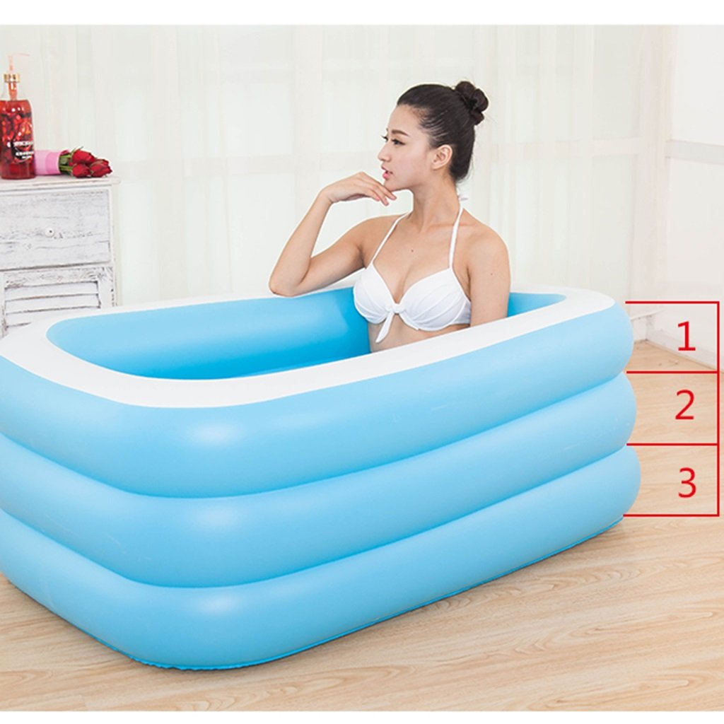 Practical portable child adult inflatable bathtub Oversized ...