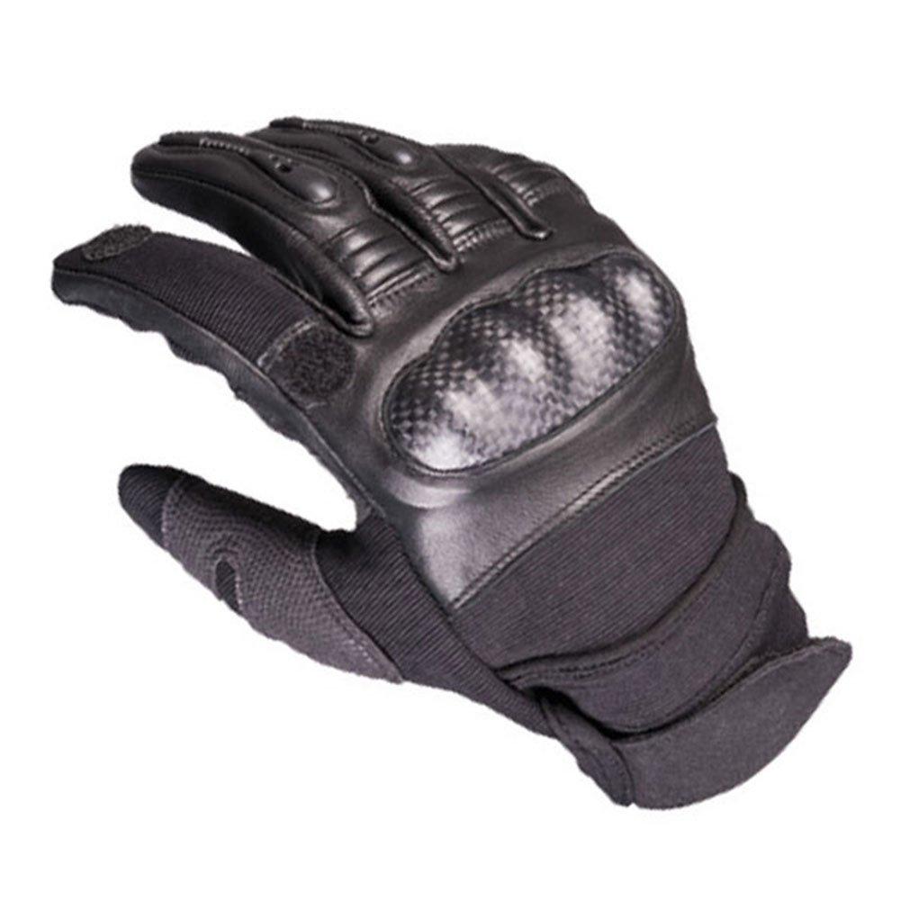 Copytec SEK Handschuhe Spezial-Sonder-Einsatzkommando Tactical Polizei Karbon Schutz Airsoft Biker Sportsch/ütze Army Bundeswehr Leder /Öffung Zeigefinger