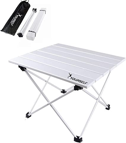 Outdoor Camping Table /& Stool Portable Picnic Beach BBQ Hunting Collapsible Desk