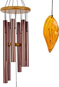 ASTARIN Wind Chimes Outdoor Large Deep Tone,36 Inch Memorial Wind Chimes with Metal Tubes Tuned to Produce Soothing Music in Memory Favorite People|Perfect Memorial Gift for Your Garden Décor
