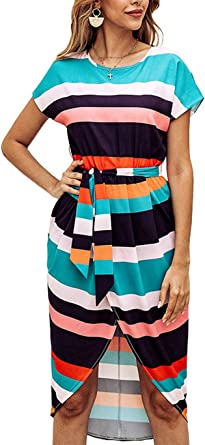 GIRLS size 8  zig zag summer DRESS party NEW with material tie black belt
