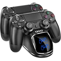 PS4 Controller Charger, OIVO Dualshock 4 Controller USB Charging Station Dock with LED Light Indicators, Playstation 4 Charging Station for Sony Playstation4 / PS4 / PS4 Slim / PS4 Pro Controller