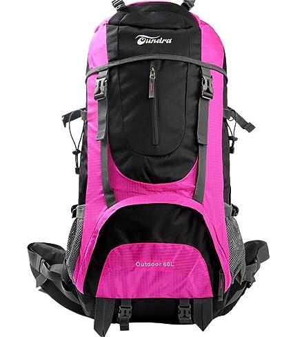 mochilas montaña Bolsa impermeable alpinismo al aire libre del bolso de hombro de múltiples funciones de