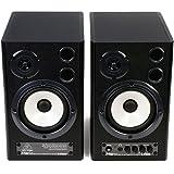 百灵达(behringer) MS40 有源 2 分频监听音箱 强劲的低音高解析度高音超线性的频率响应